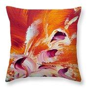 Fraicheur Throw Pillow by Isabelle Vobmann