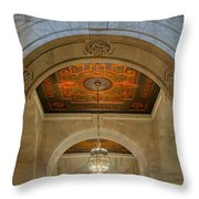 Framed By An Arch Throw Pillow