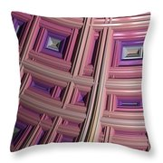 Frames Throw Pillow by Bill Owen