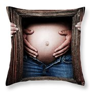 Framing The Moment Throw Pillow