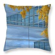 Framing The Sky Throw Pillow