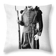 France Grenadier, 1860 Throw Pillow