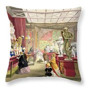 France No. 3, From Dickinsons Throw Pillow