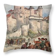 Francis I Held Prisoner In A Tower Throw Pillow