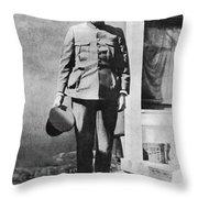 Francisco 'pancho' Villa (1877-1923) Throw Pillow