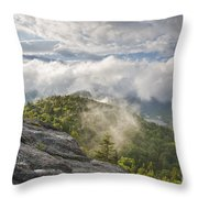 Franconia Notch State Park - New Hampshire White Mountains  Throw Pillow