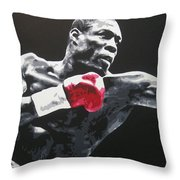 Frank Bruno Throw Pillow