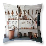 Frank Macgregor Smith's Gardening Area Throw Pillow