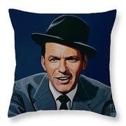 Frank Sinatra Throw Pillow