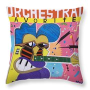 Frank Zappa Orchestral Favorites Throw Pillow
