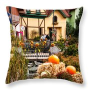 Frankenmuth Fall Throw Pillow