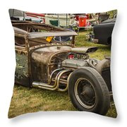 Frankenstein '28 Model A Sedan Throw Pillow