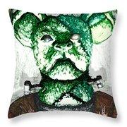 Frankenstein's Koala Throw Pillow