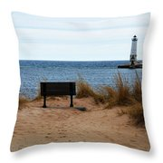 Frankfort Shore Throw Pillow