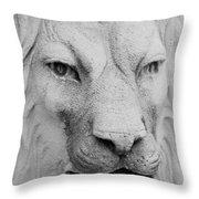 Frankie Lion Throw Pillow