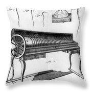 Franklin: Armonica, 1761 Throw Pillow