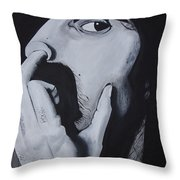Franklyz Throw Pillow