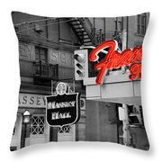 Frans Restaurant 2 Throw Pillow