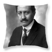 Frederick Albert Cook Throw Pillow