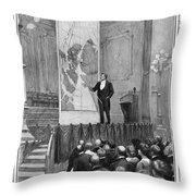 Frederick Cook (1865-1940) Throw Pillow