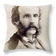 Frederick Edwin Church (1826-1900) Throw Pillow