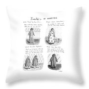 Frederick's Of Winnipeg Throw Pillow