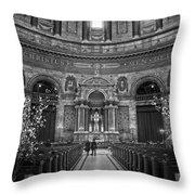 Frederik's Church Interior Throw Pillow