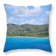 Frederiksted Throw Pillow