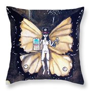 Free As A New Years Resolution Throw Pillow