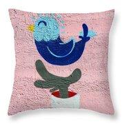 Free Birdy Throw Pillow
