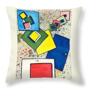 Considering Solutions Throw Pillow