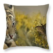 Free From Evil Throw Pillow