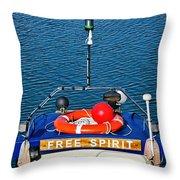 Free Spirit 2 Throw Pillow