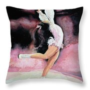Free Spirit Throw Pillow by Hanne Lore Koehler