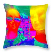 Free Thinkers Throw Pillow