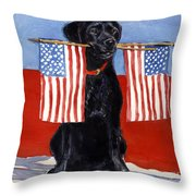 Free To Be Throw Pillow by Molly Poole