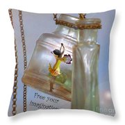 Free Your Imagination Throw Pillow