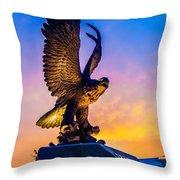 Freedom Bird Throw Pillow