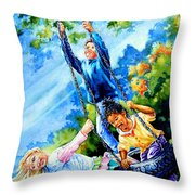 Freedom Chains Throw Pillow