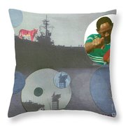 Freedom From Fear Throw Pillow