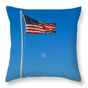 Freedom Throw Pillow by Robert Bales