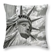 Freedom Throw Pillow by Sarah Batalka