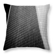 Freedom Tower Abstract Throw Pillow