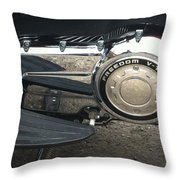 Freedom V-twin Throw Pillow