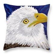 Freedom's Hope Throw Pillow by Vicki Maheu