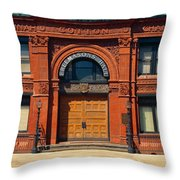 Freemasons Hall, Factors Walk Throw Pillow