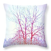 Freezing Cold Feet In Peace Throw Pillow