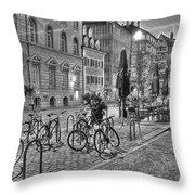 Freiburg Road Homes  Throw Pillow
