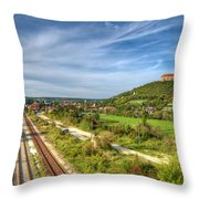 Freiburg Throw Pillow