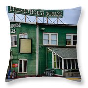 Freighthouse Square Throw Pillow